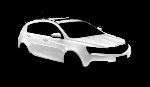 Цвета кузова Emgrand 7 RS